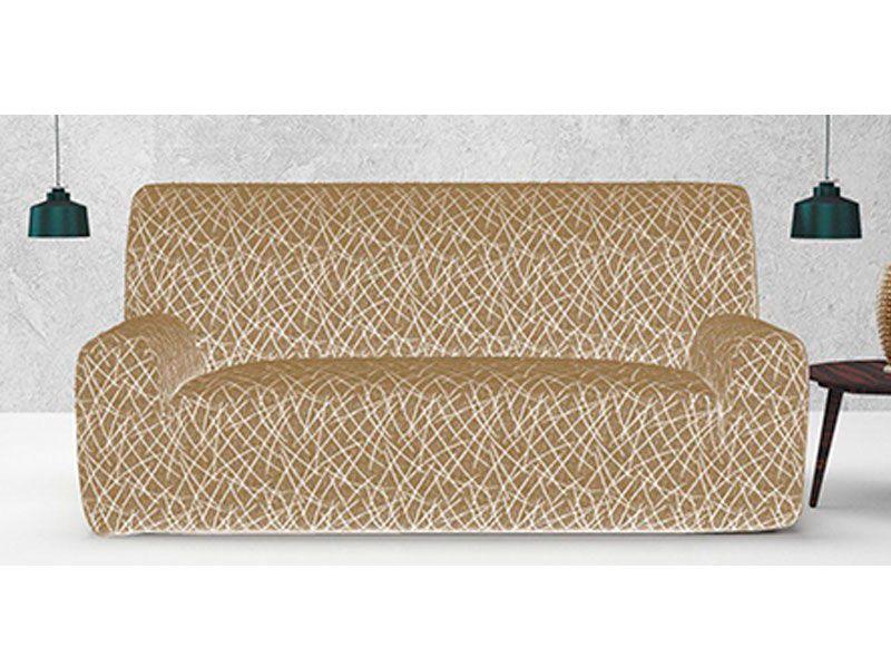Fundas Ajustables Padua Para Sofa O Sillon De 1 2 3 O 4 Plazas En Color Vison