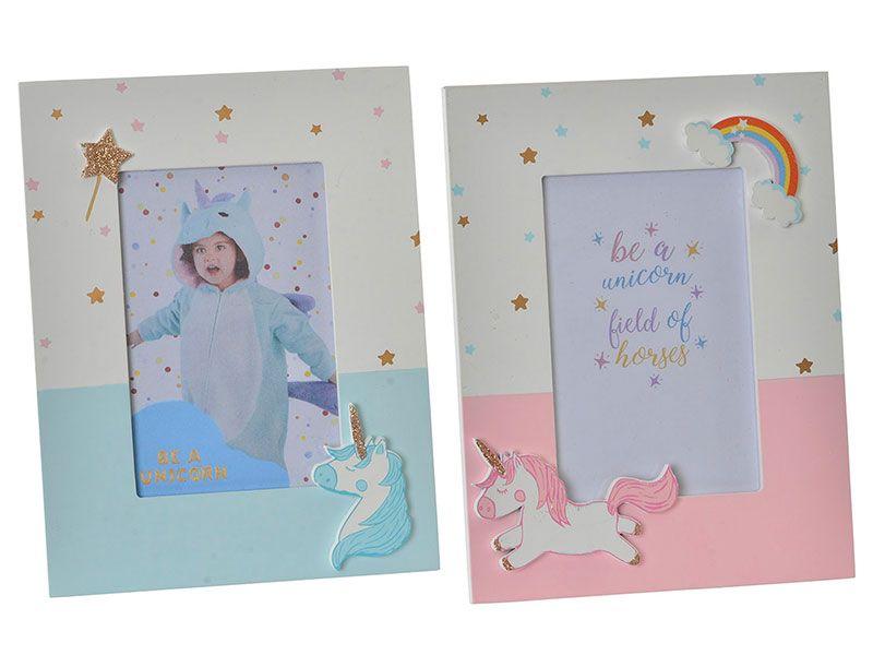 Marcos de foto infantil 10x15 cm con decoración de unicornio tanto ...