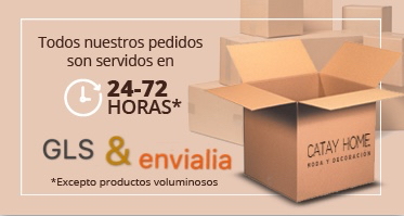 Todos nuestros pedidos son servidos en 24-72 horas, excepto productos voluminosos