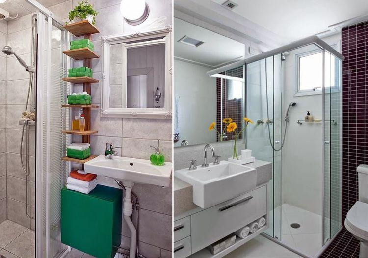 Las mejores ideas para ba os peque os y funcionales for Banos modernos para espacios pequenos