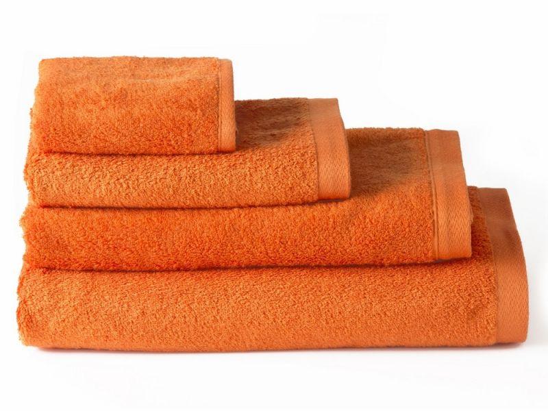 Toallas de algod n para ba o naranja 70 140 - Toallas de algodon ...