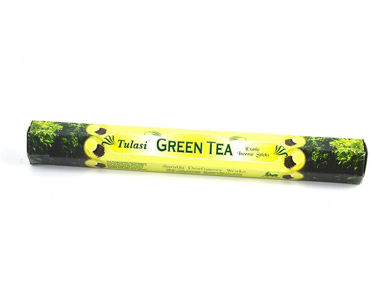 incienso con Aroma de Te Verde