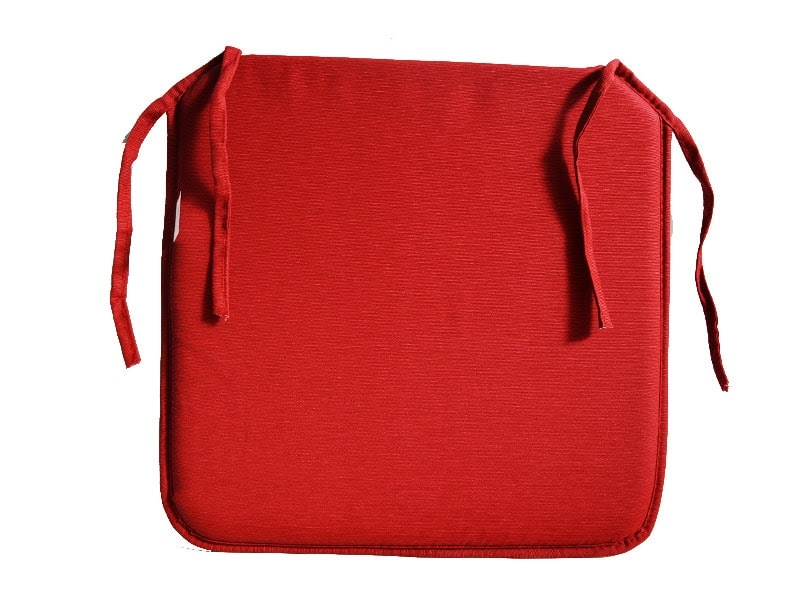 Cojin Para Silla Color Rojo Extra Loneta Liso 2 95 Euros