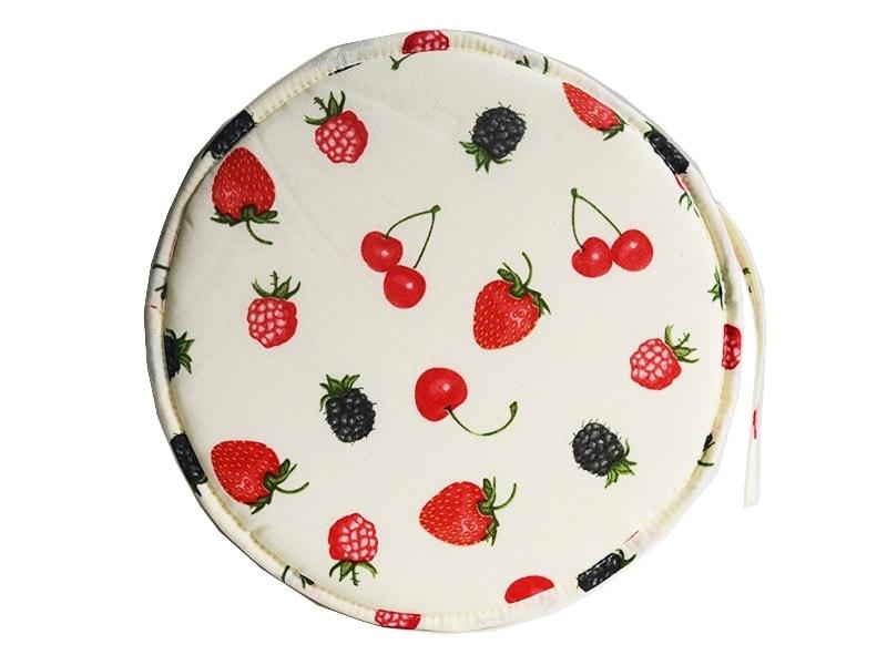 Cojines con estampado de frutas redondo para sillas - Cojin redondo silla ...