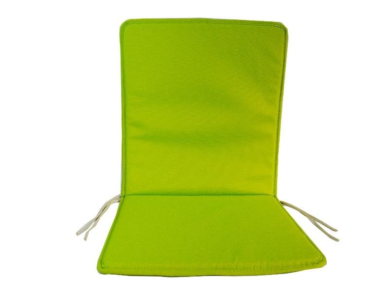 Cojin Para Silla Con Respaldo Loneta Lisa Color Pistacho 4 95 Euros