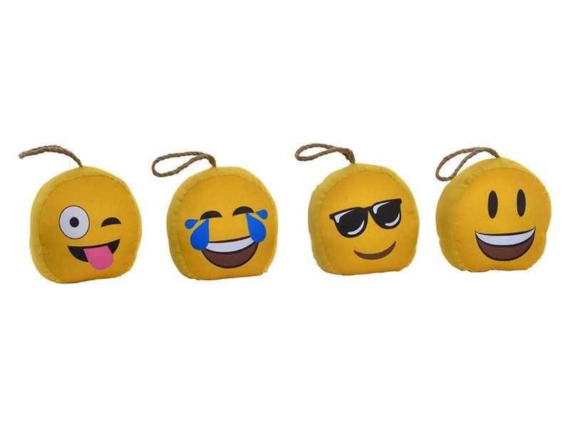 4 Sujeta puertas en forma de emoticonos 19X13,5X17 Cm