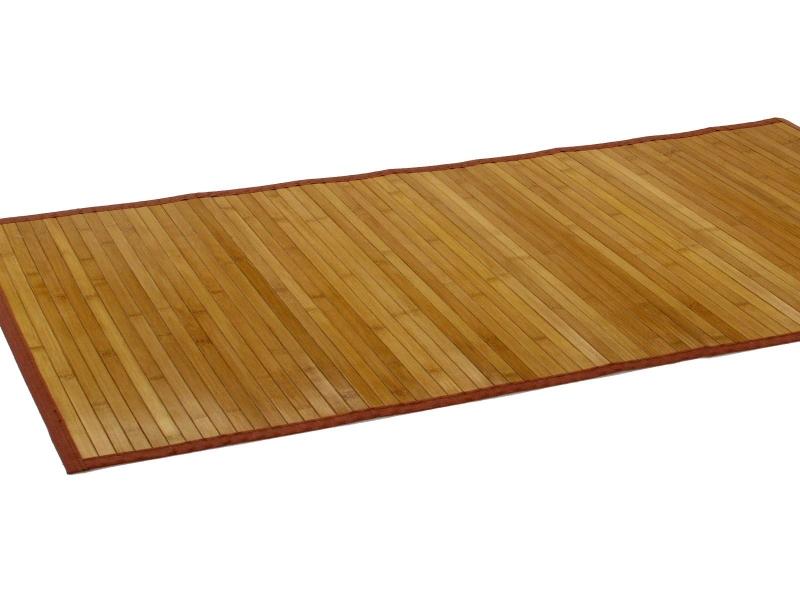 Alfombra de bamb natural - Alfombra de bambu ...
