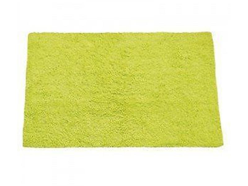 Alfombra de baño 100 x 100 algodón   color verde