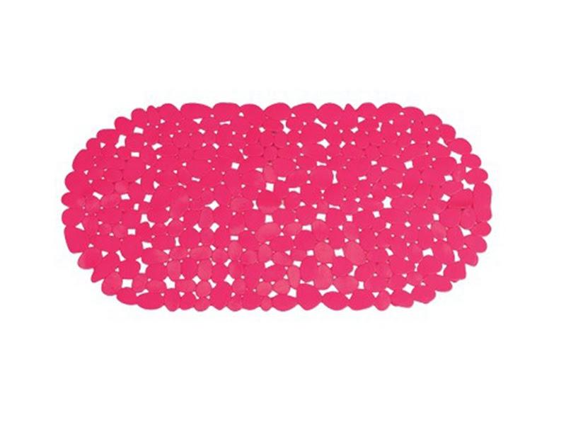 Alfombra de ba o pvc piedra rosa - Alfombras de pvc ...