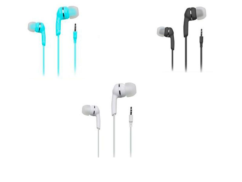 Auriculares para Móviles  Etno Earphones JACK 3.5 mm tres colores disponibles