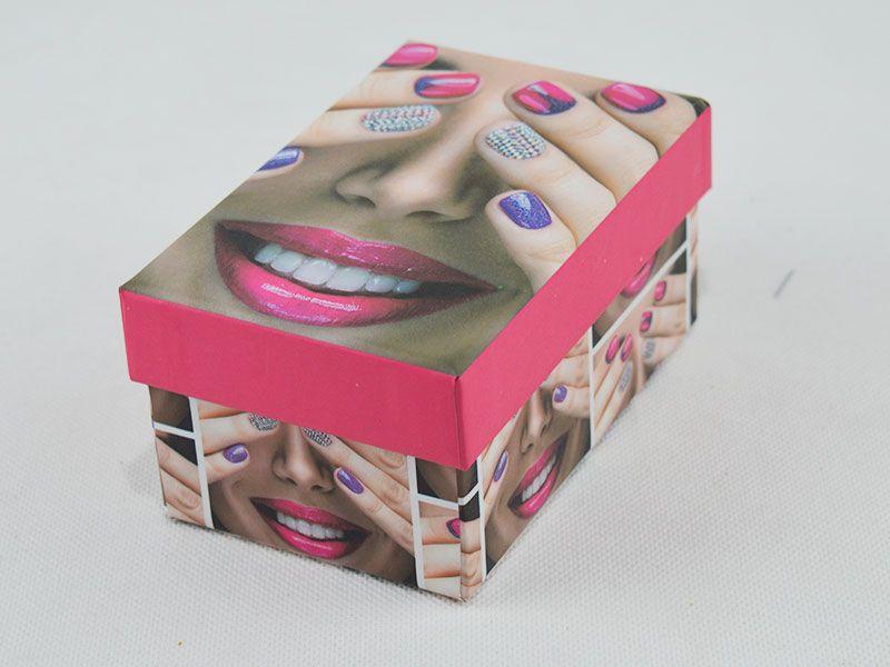 Caja de regalo 11.5x7.5x5.5cm realizada en cartón ecológico 2 ...