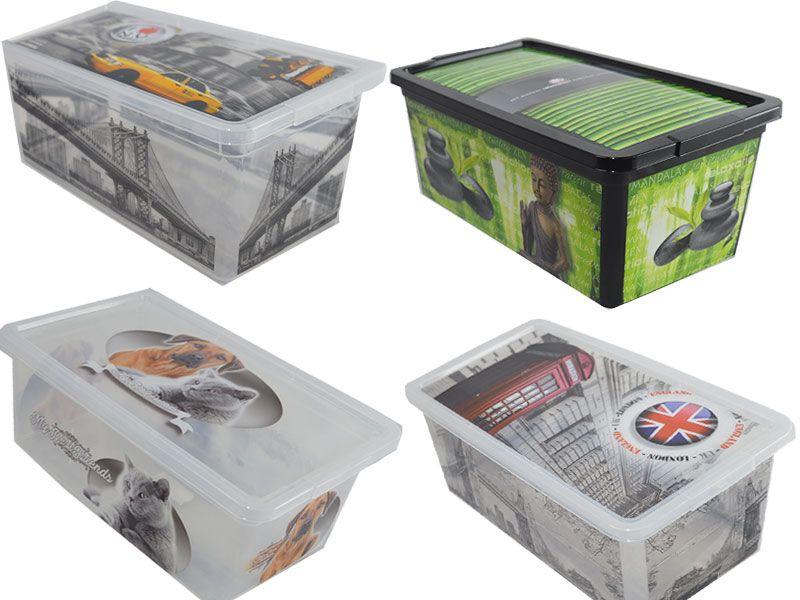 Comprar cajas de pl stico y cart n baratas para organizar - Cajas de plastico baratas ...