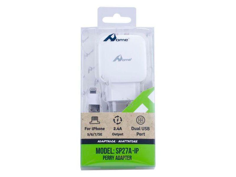Apple MFi Certificado] Cable cargador Lightning a USB y adaptador ...