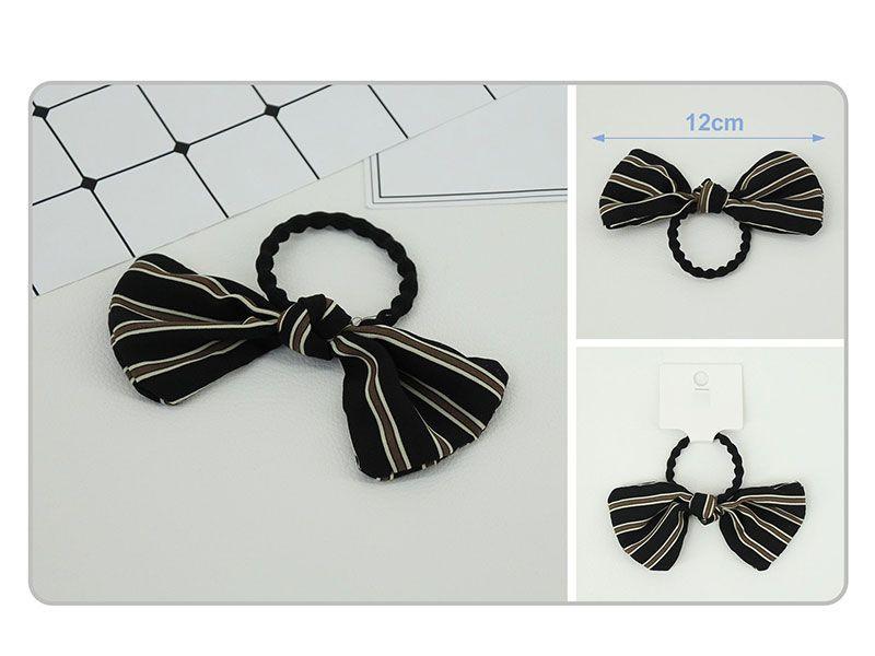 Coletero elástico negro con forma de pajarita 12 cm lineas esbeltas y perfectas