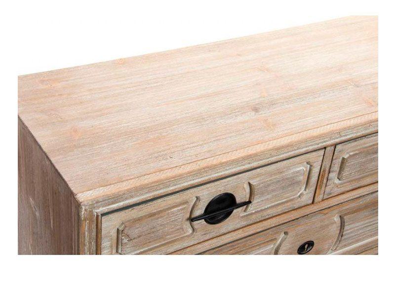 Como envejecer madera blanca beautiful efecto envejecer for Como pintar un mueble oscuro en blanco envejecido