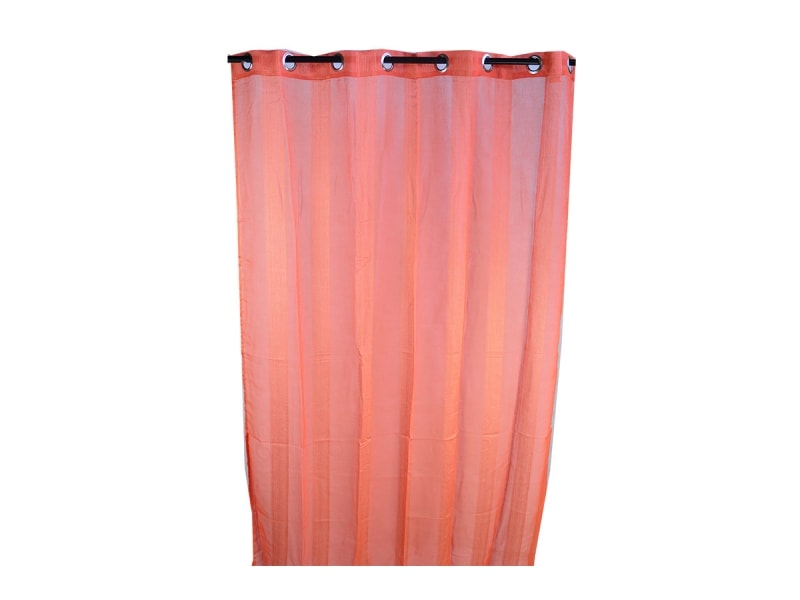 Cortina naranja 150 260 for Cortinas naranjas