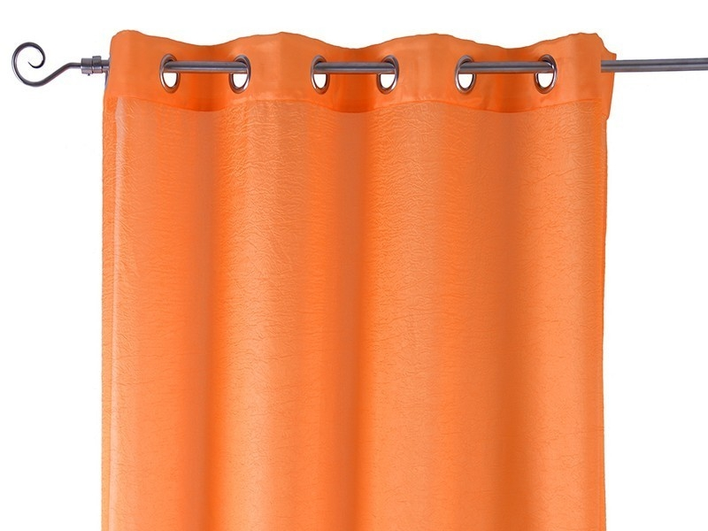 Cortinas Tafeta Living Colour Naranja
