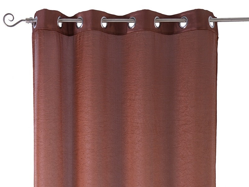 Cortinas Tafeta Living Colour Chocolate