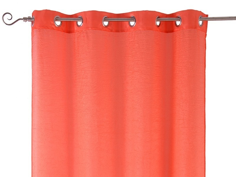 Cortinas Tafeta Living Colour Rojo