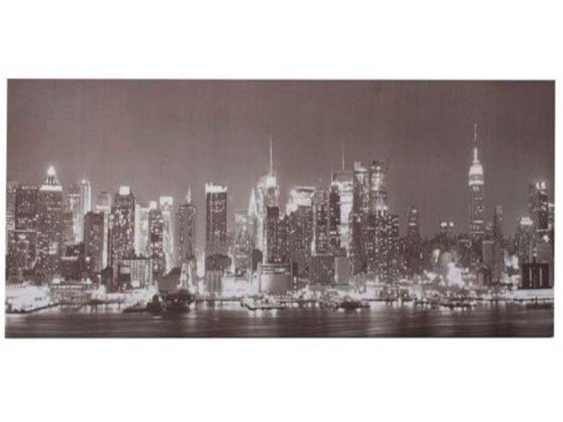Cuadros de lienzo ciudad blanco y negro