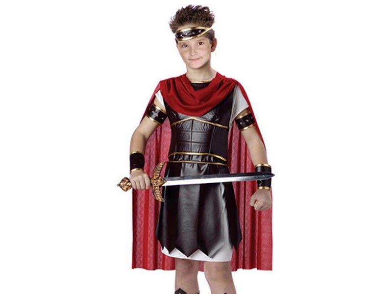 Disfraz soldado romano 4 piezas 7/10 años