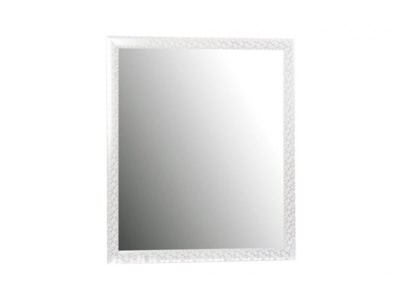 Espejo para pared floral blanco perlado 56 67 for Espejos para pared