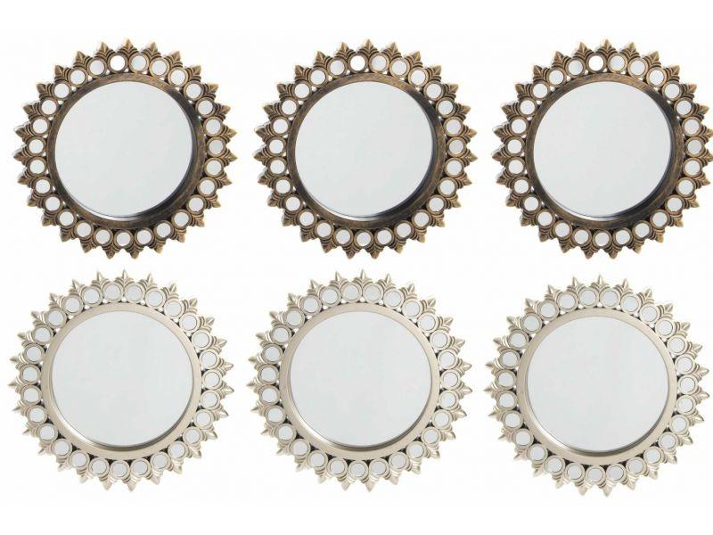 Set de espejos 3pc estilo vintage