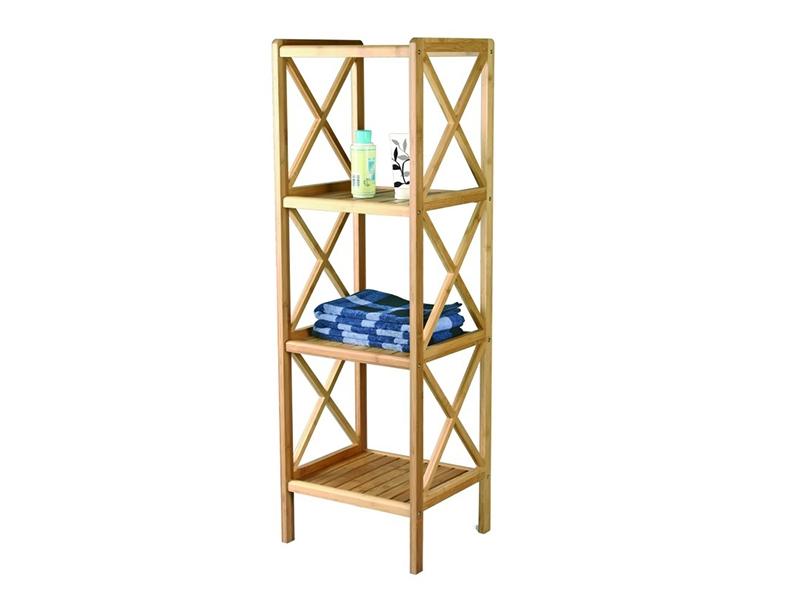 Estantería de bambú  4 niveles