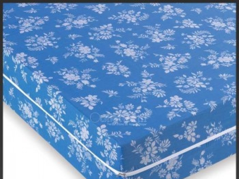 Funda de colch n azul 150 190 for Fundas de colchon ikea