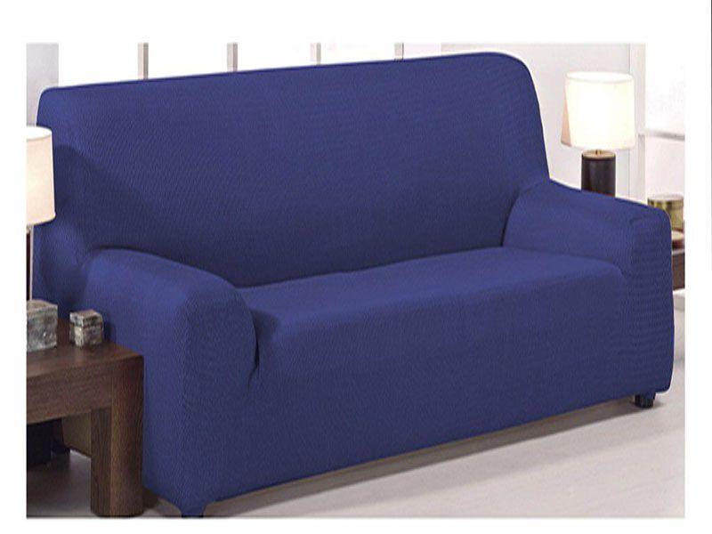 Funda de sofá monaco color azul 4 tamaños