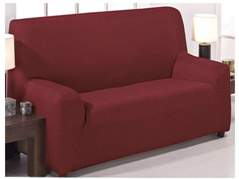 Funda sofá Monaco roja 4 tamaños