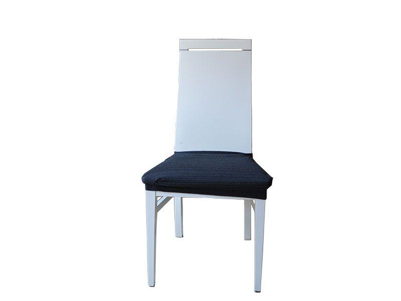 Set de 2 fundas para sillas Jacquard elástica con tejido rustico de ...