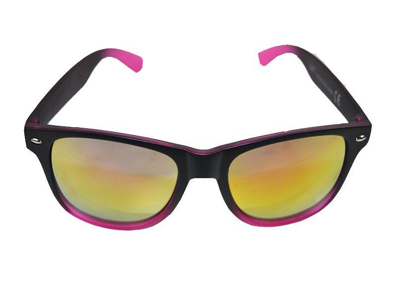 Gafas de sol polarizadas detalles rosas y lentes naranjas - rosas 4602374cebd1