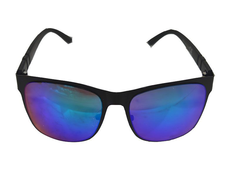 35fd87be64 Gafas de sol polarizadas magnet montura negra y lentes azules
