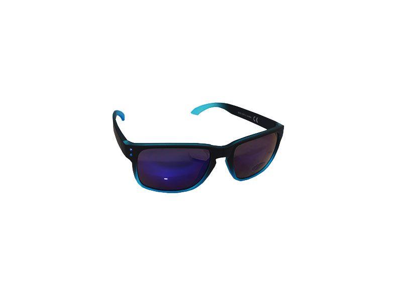 1d48579ebd Gafas de sol polarizadas azul entrecortado y lentes lilas