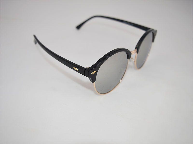 gafas de sol montura superior lentes grises