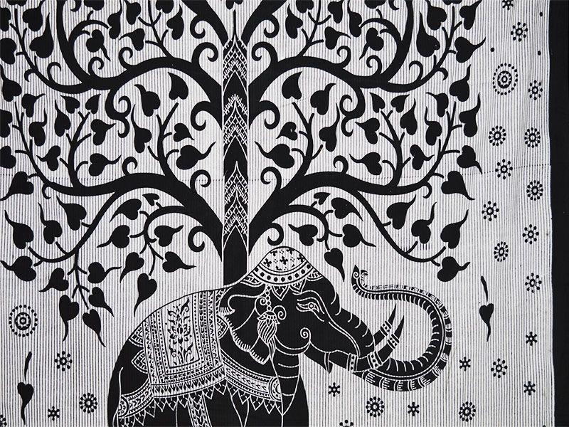 Comprar Mandala Elefante Y árbol De La Vida 10