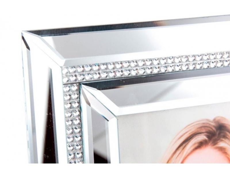 Marco de foto de cristal gema espejo 10 15 - Marcos de cristal ...