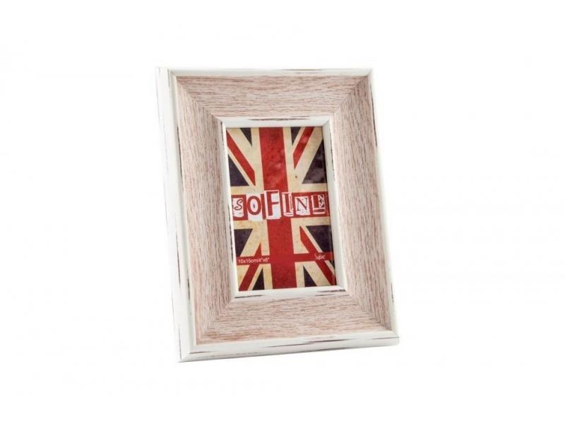 Marco de Foto de Madera Cristal Bandera Inglaterra 10×15
