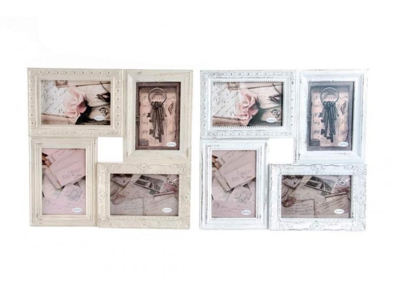 Portaretratos de pared estilo barroco múltiple de 5 fotos color ...