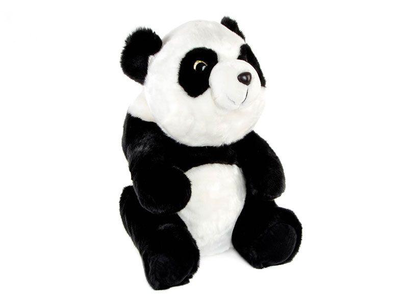 Peluche de oso panda poliester 45 Cm