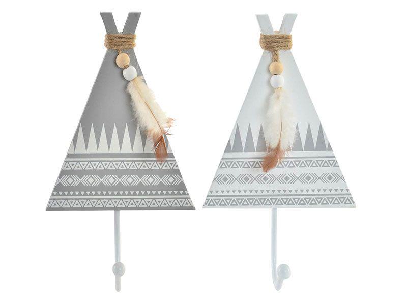 Perchero de madera estilo tipi 1 soporte