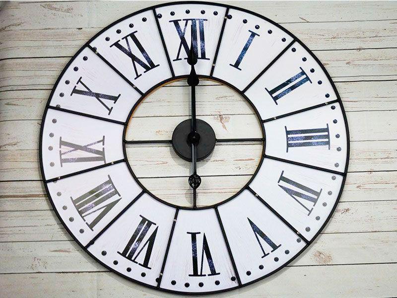 Reloj de metal bicicleta - Reloj para salon ...