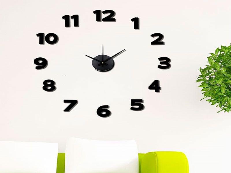 Reloj de pared adhesivo excellent reloj de pared adhesivo - Reloj pared adhesivo ...