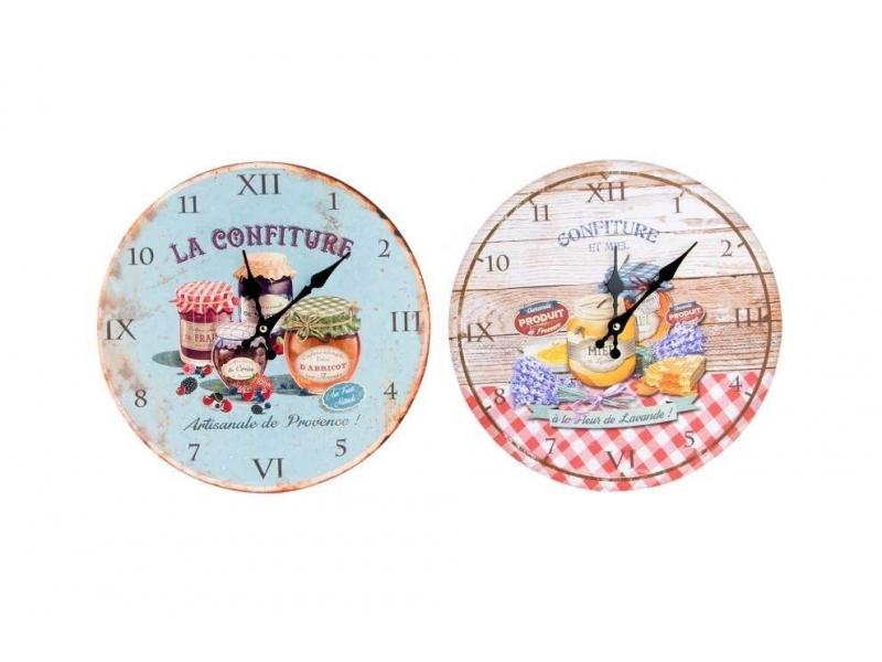 Reloj de Pared de Madera Confituras 34 cm