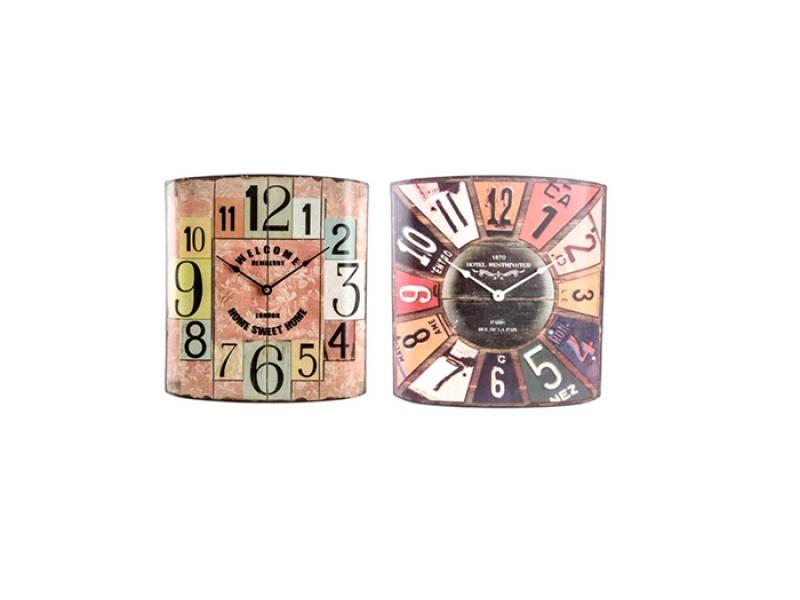 Reloj para Pared de Metal