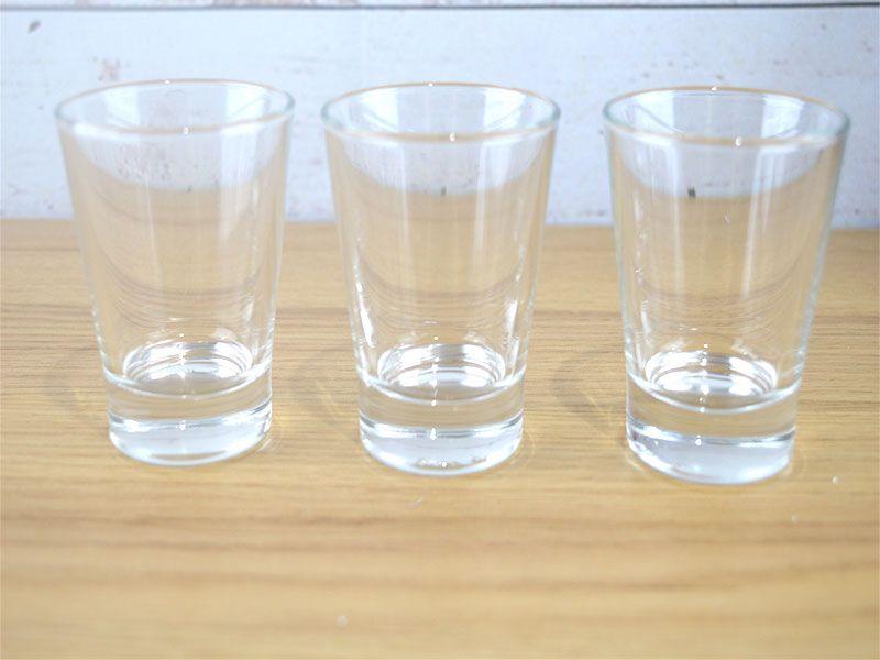 Set de 3 vasos chupitos para café o bebidas alcohólicas  85 ml caffeino