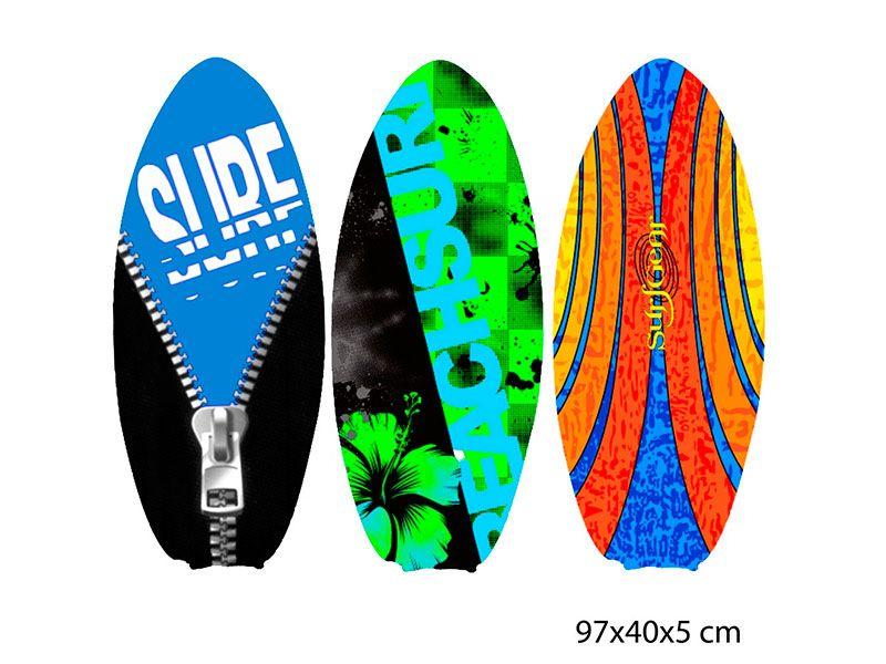 Tabla de sur semi-profesional para aprendizaje con magníficos diseños relacionados con el mar y las olas disponibles en tres modelos diferentes