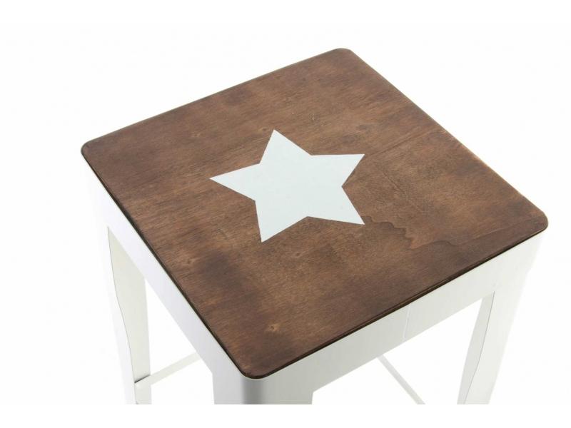 Taburete cocina moderno metal madera - Taburete cocina madera ...