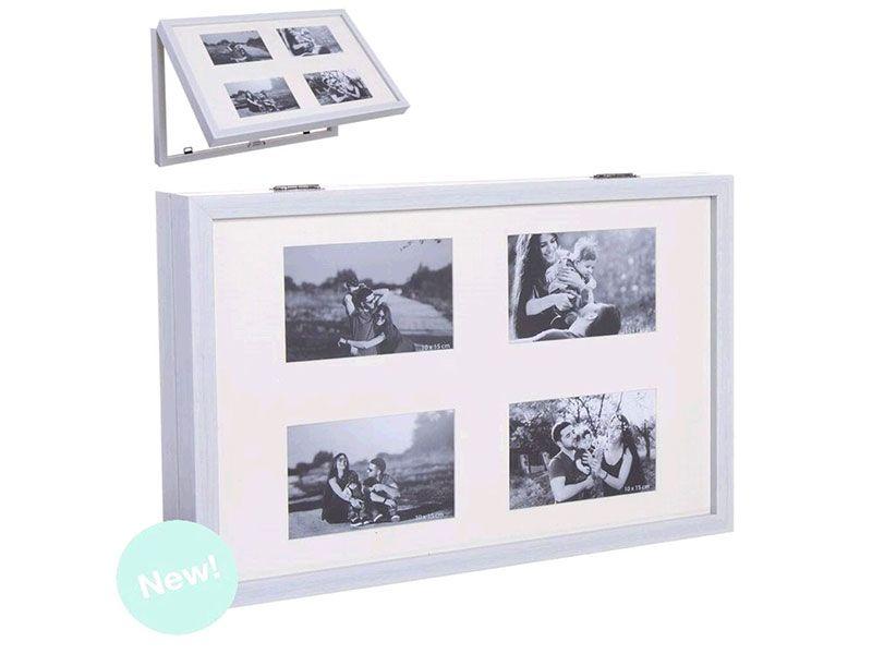 Tapa contador luz blanco multifoto 48x32 cm